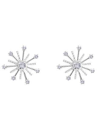 Joma Firework Stud Earrings Silver