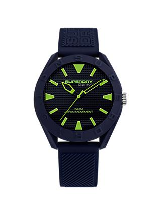 Superdry Men's Osaka Silicone Strap Watch