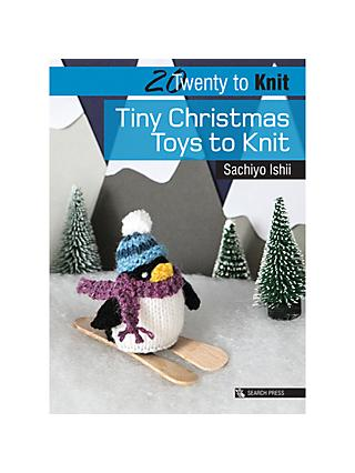 Search Press Tiny Christmas Toys To Knit Book