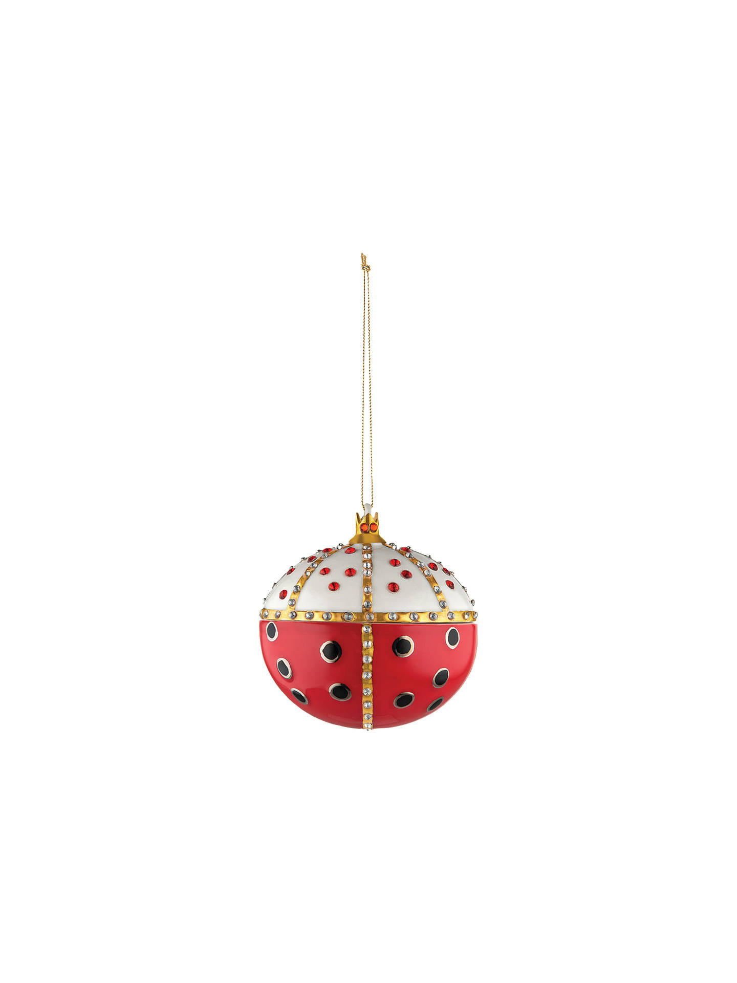 Buy Alessi Oval Bauble Online at johnlewis.com