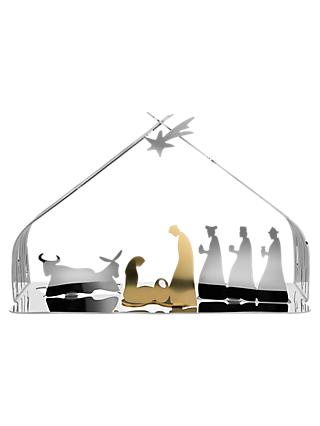 Alessi Bark Crib Nativity Scene