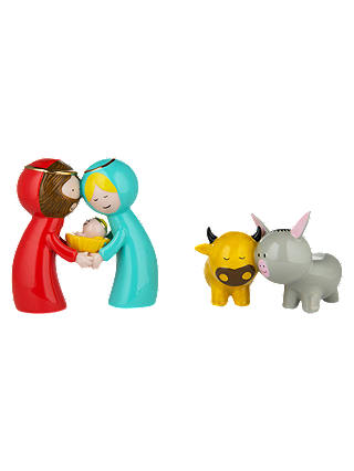 Buy Alessi 'Happy Eternity Baby' Set of Figurines Online at johnlewis.com