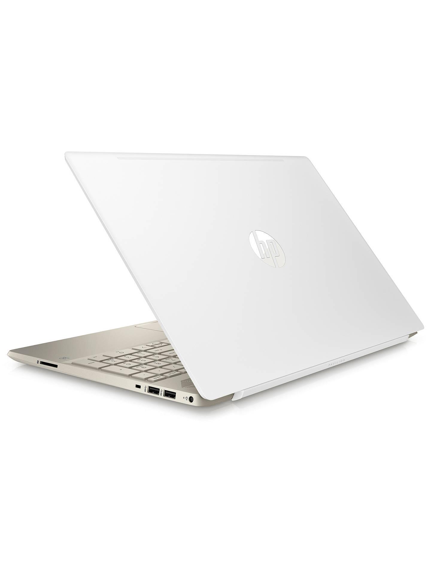 Hp Pavilion 15 Cs0999na Laptop Intel Pentium Gold 4gb Ram 128gb Ssd 15 6 White Cover At John Lewis Partners