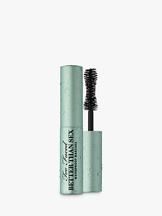 Too Faced Better Than Sex Waterproof Mascara, Black, 4.8ml
