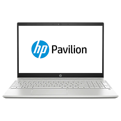 "Image of HP Pavilion 15-cs0026na Laptop, Intel Pentium, 4GB RAM, 128GB SSD, 15"", Silver Cover"
