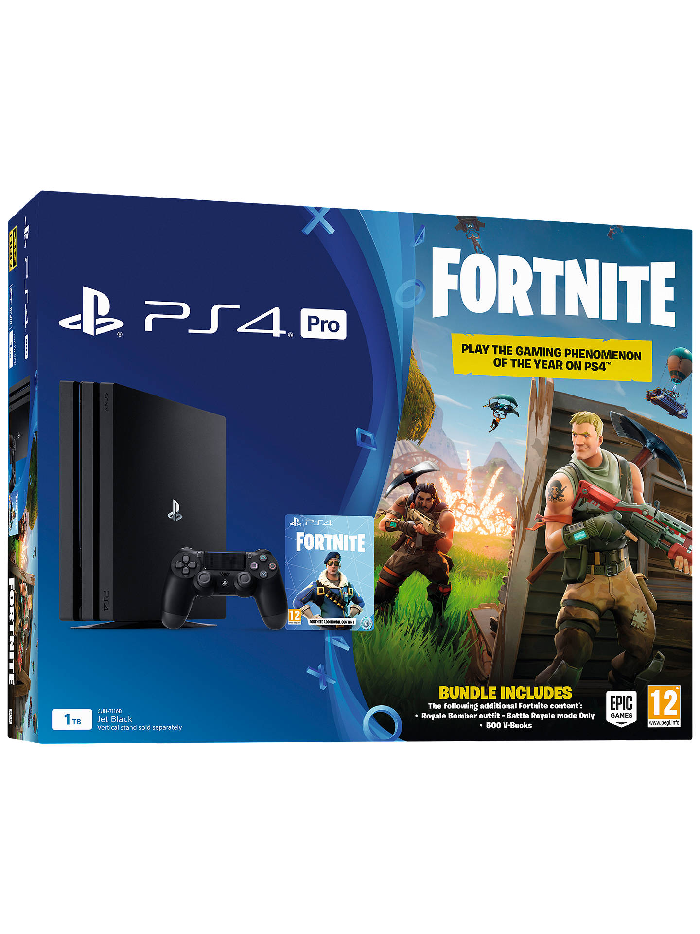 Sony Playstation 4 Pro Console 1tb With Dualshock 4 Controller