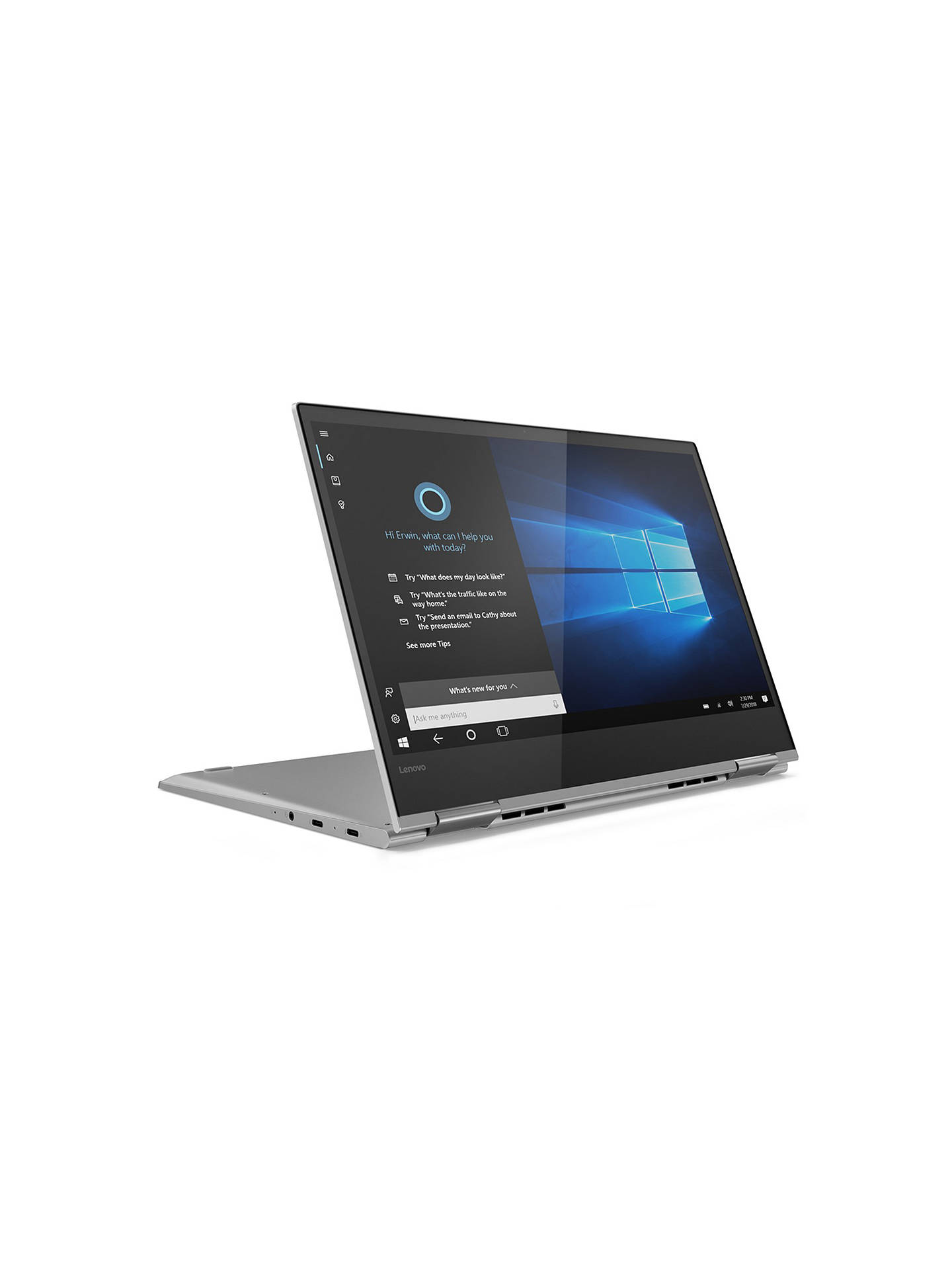 Lenovo Yoga 730 Convertible Laptop, Intel Core i7 Processor, 8GB RAM, 512GB  SSD, 13 3