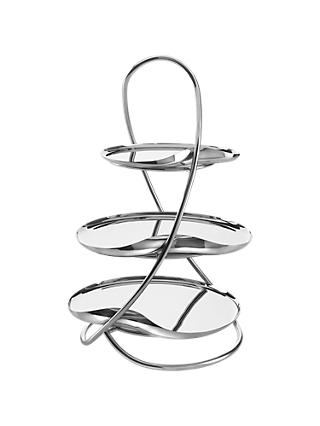 Robert Welch Drift 3 Tier Cake Stand