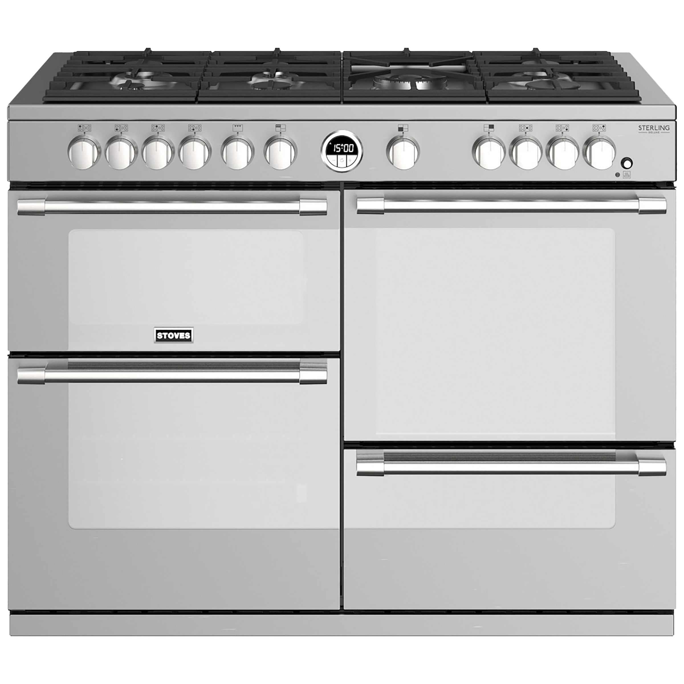 Stoves Stoves Sterling Deluxe S1100G Gas Range Cooker, A/A/A Energy Rating