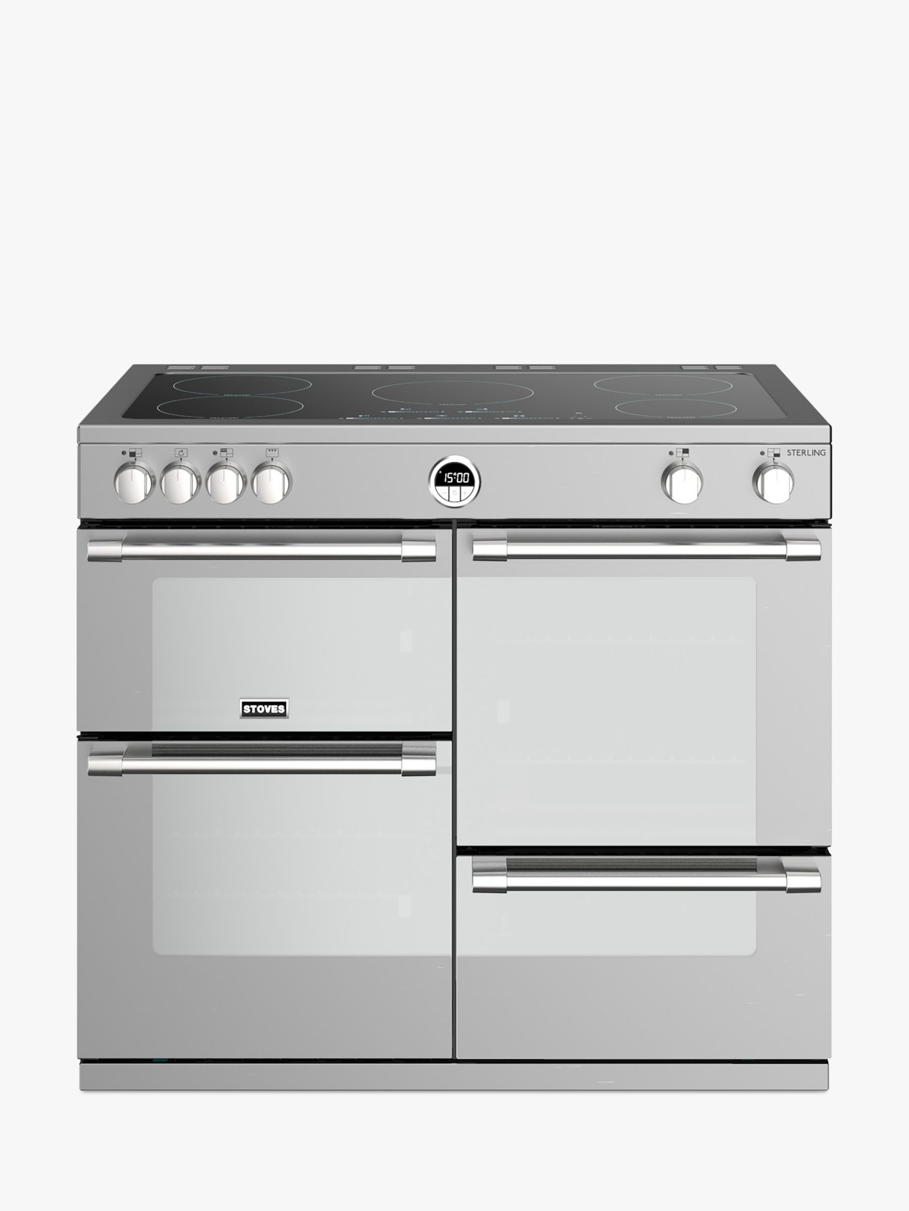 Stoves Stoves Sterling S1000Ei Induction Electric Range Cooker, A+ Energy Rating