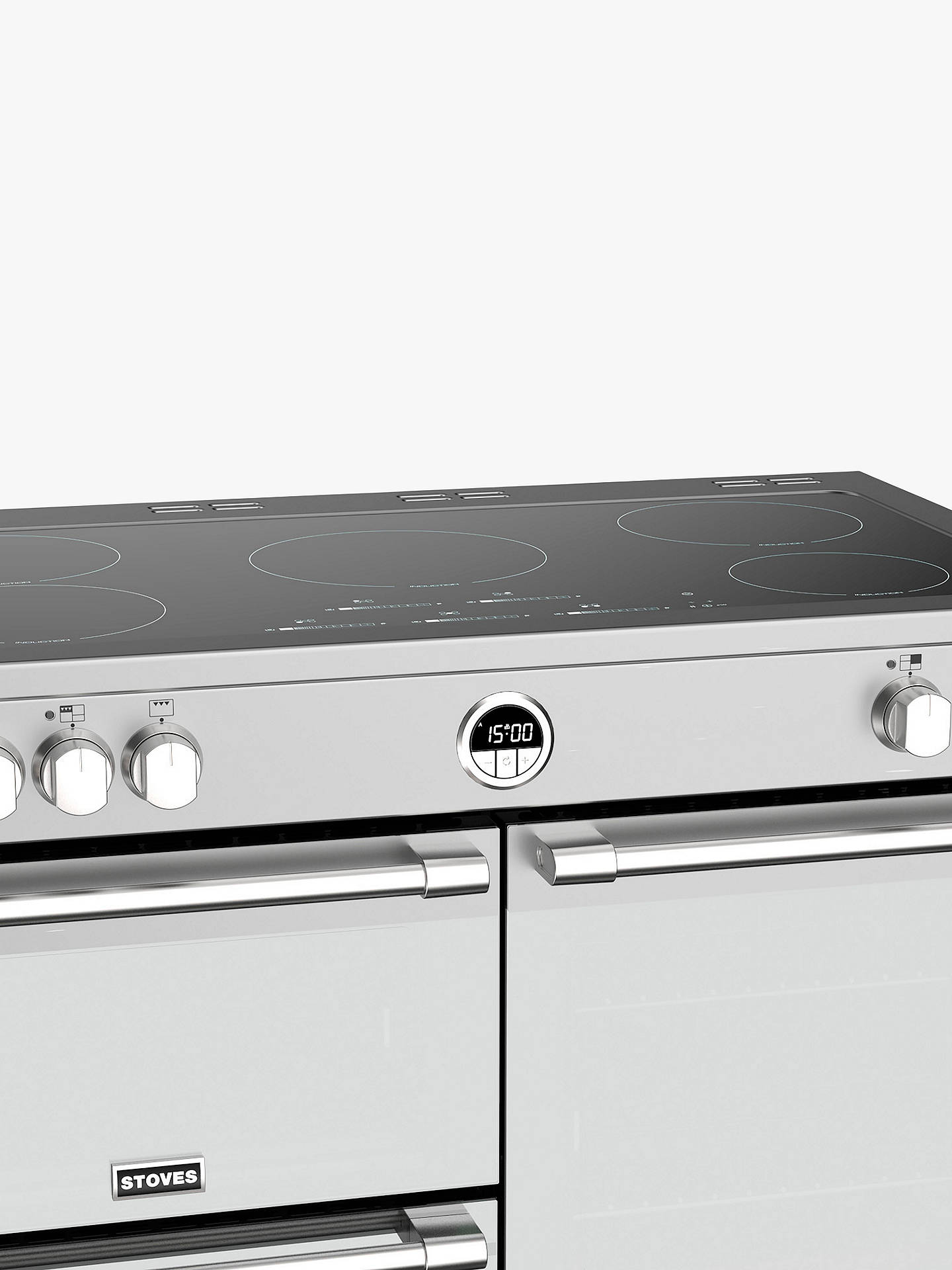 BuyStoves Sterling S1000Ei Induction Electric Range Cooker, A+ Energy Rating, Stainless Steel Online at johnlewis.com