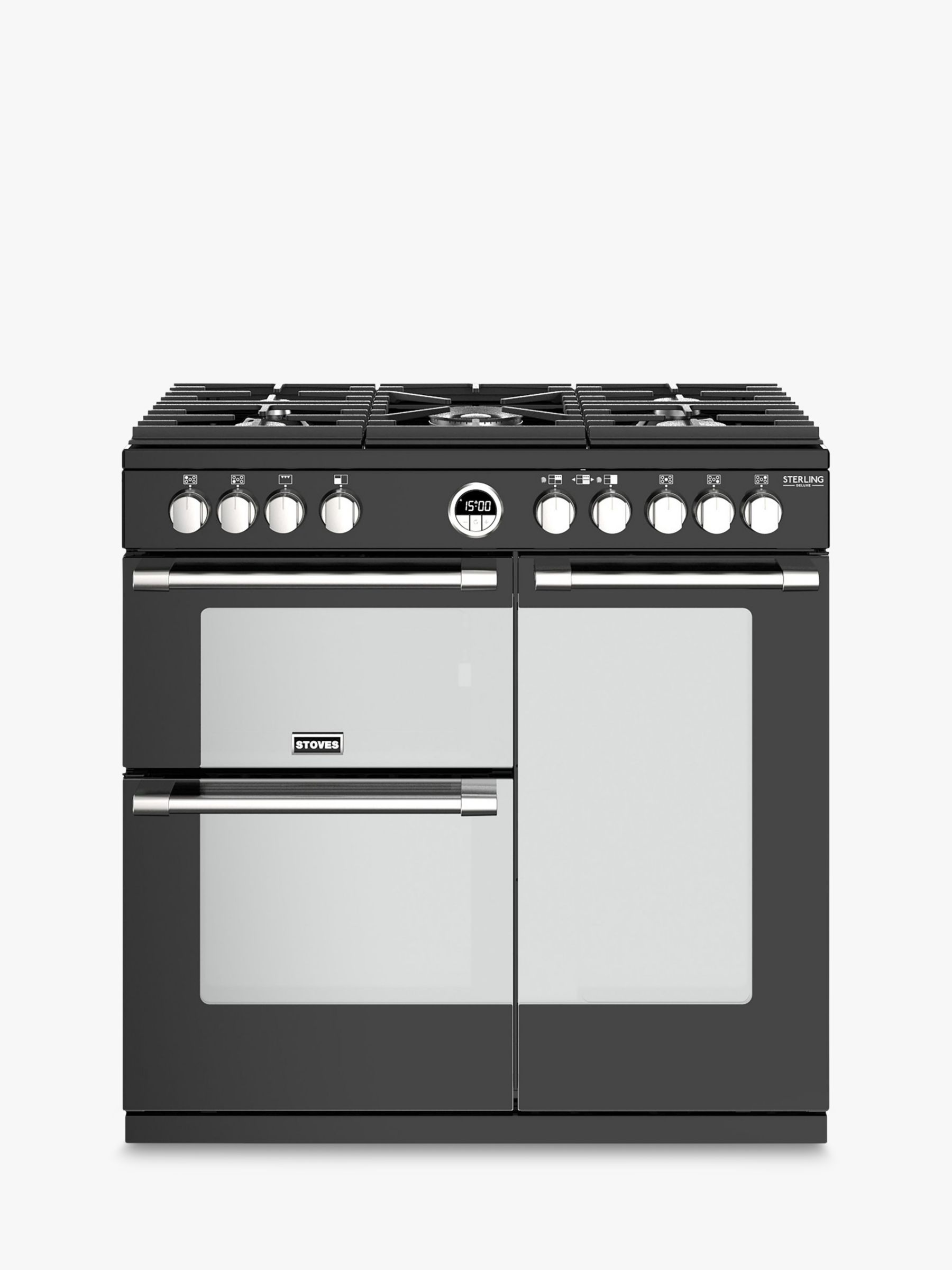 Stoves Stoves Sterling Deluxe S900G Range Cooker, A/A Energy Rating