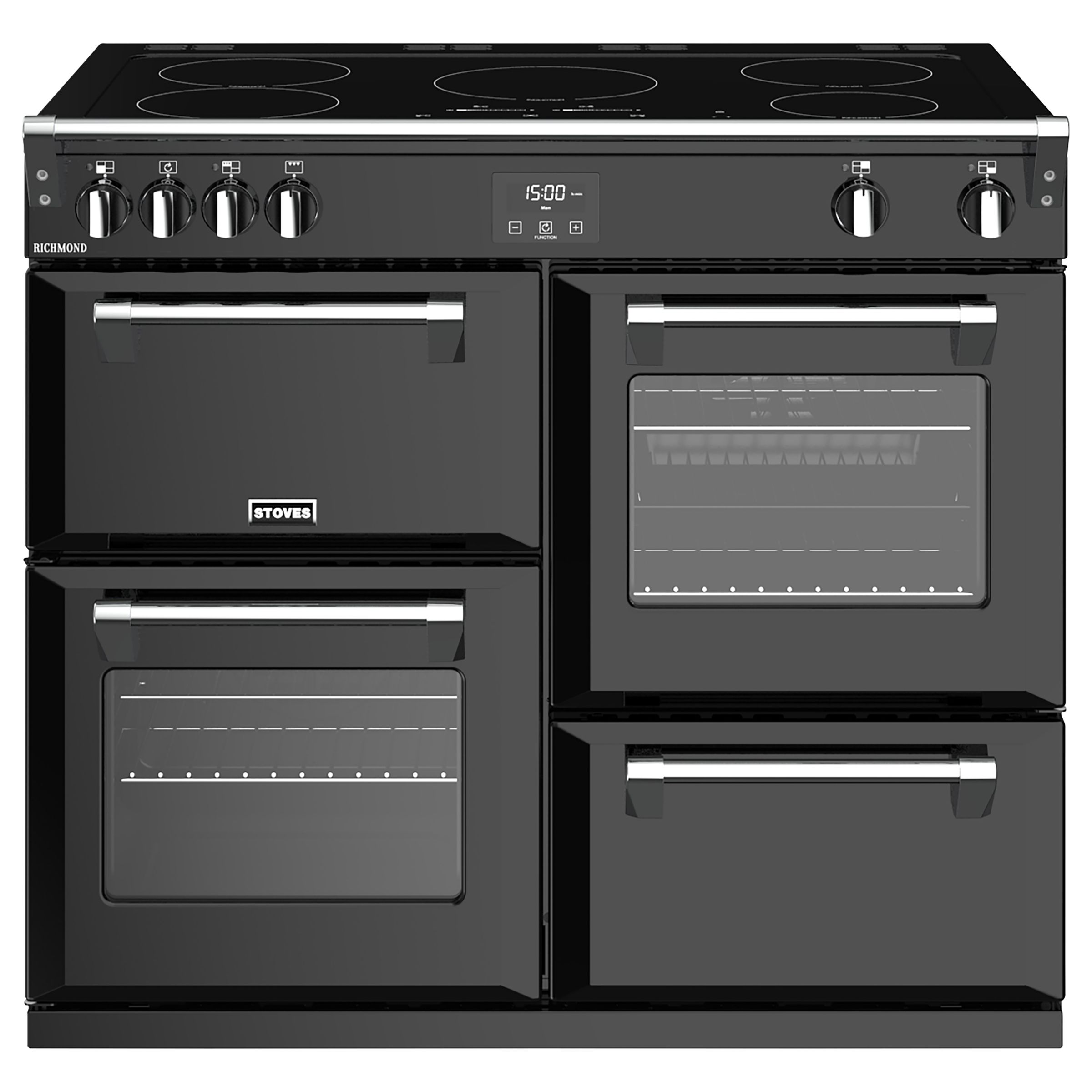 Stoves Stoves Richmond S1000Ei 100cm Induction Electric Range Cooker, A Energy Rating,