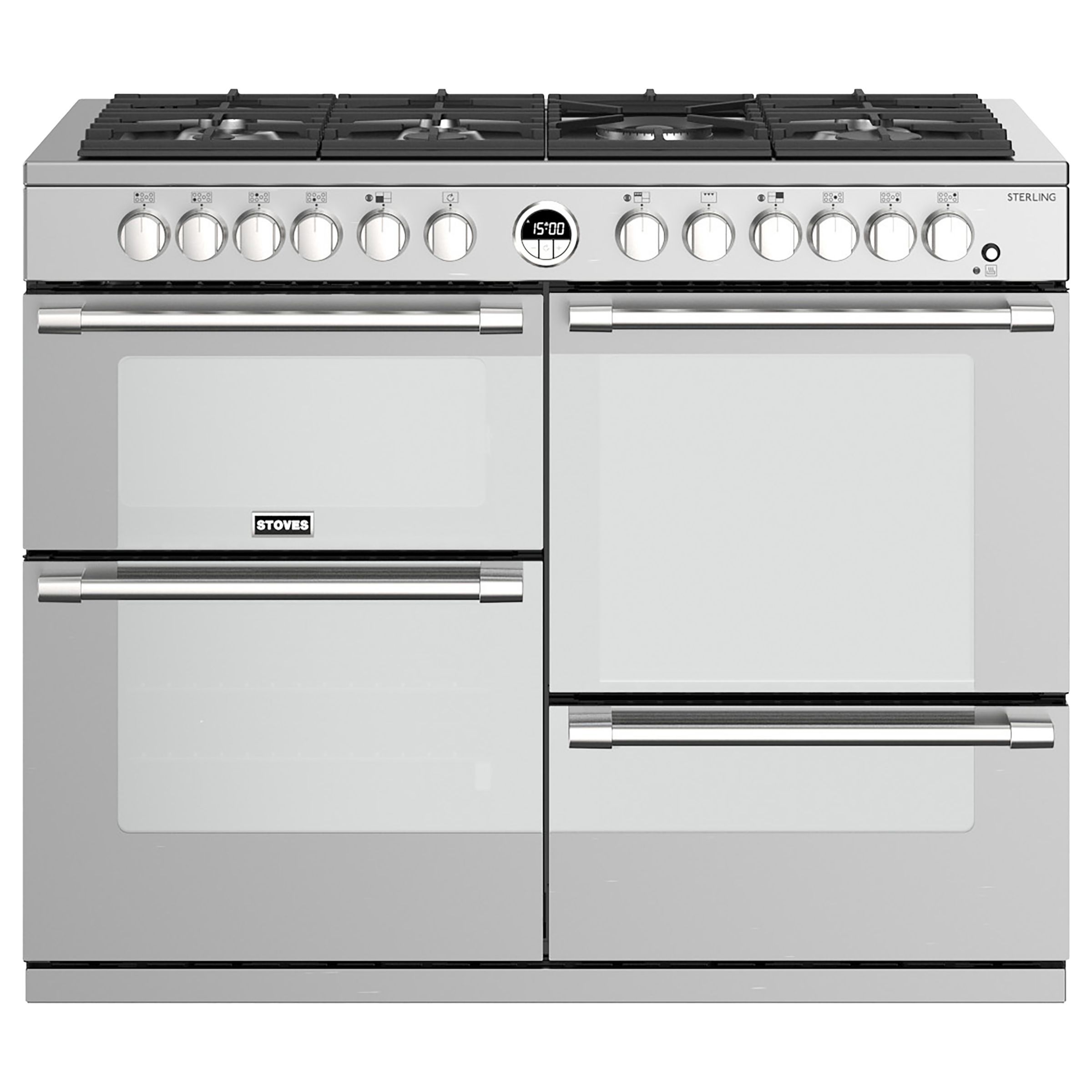 Stoves Stoves Sterling S1100DF Dual Fuel Range Cooker