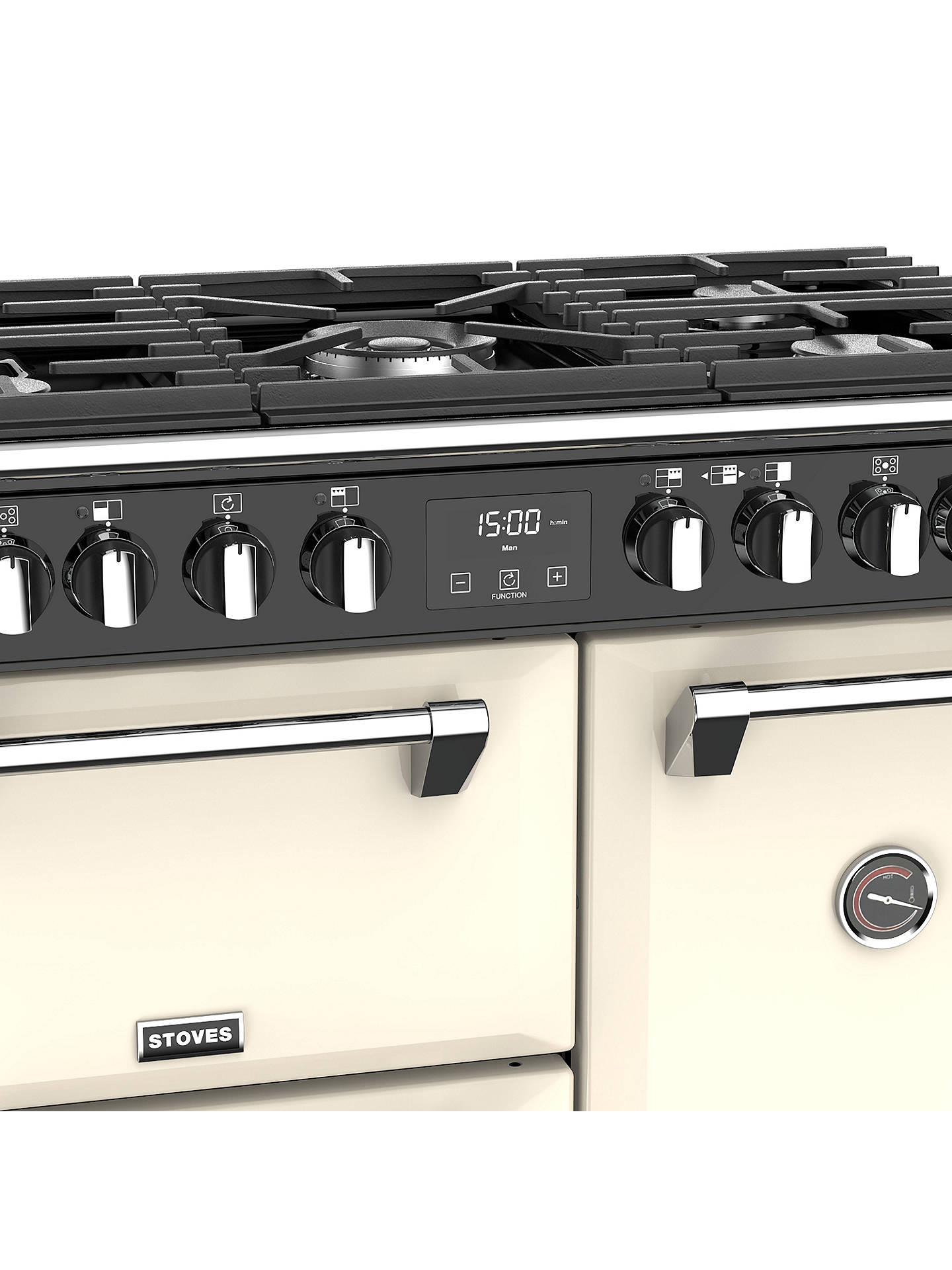 Buy Stoves Richmond Deluxe S900DFG Dual Fuel Range Cooker, Classic Cream Online at johnlewis.com