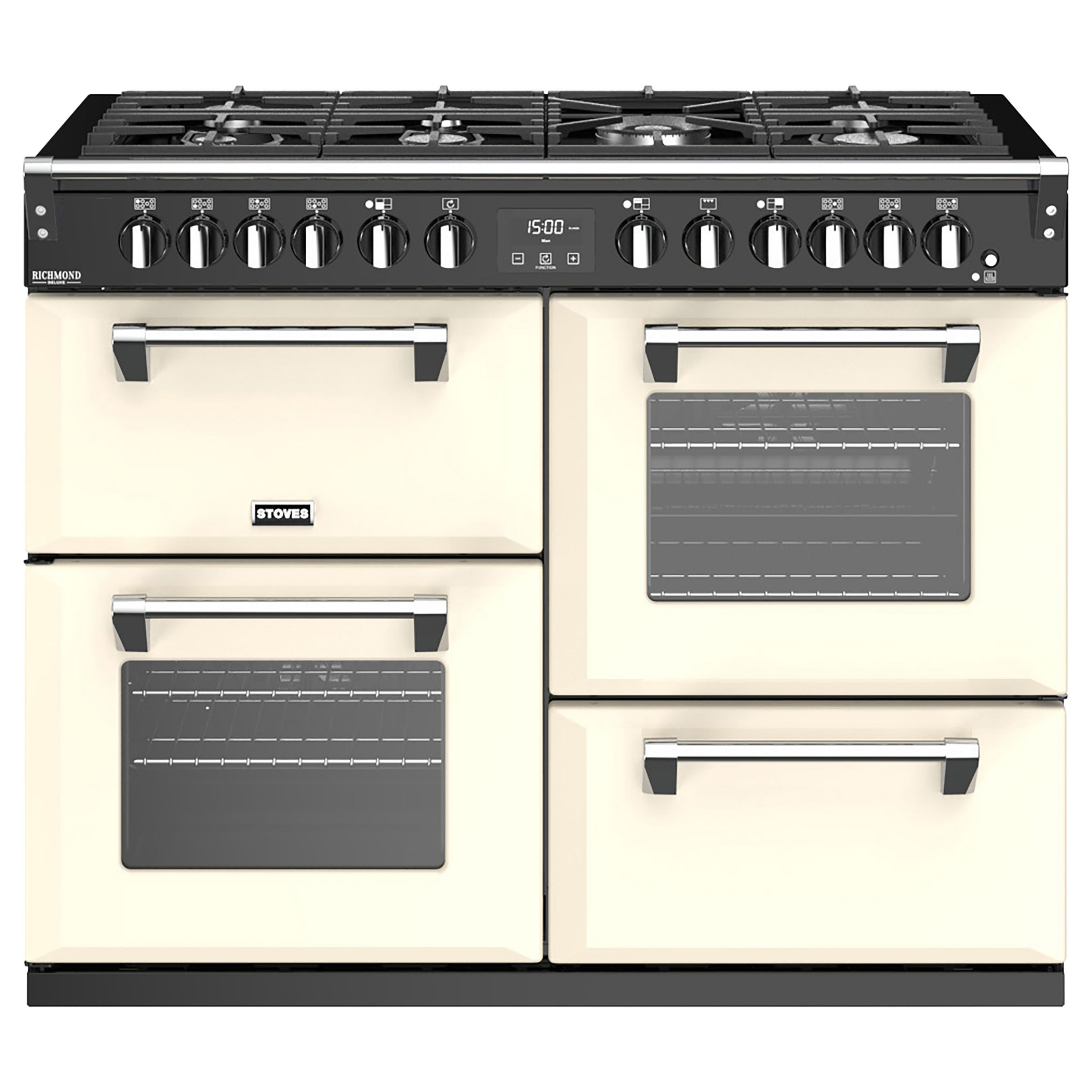 Stoves Stoves Richmond Deluxe S1100DF Dual Fuel Range Cooker