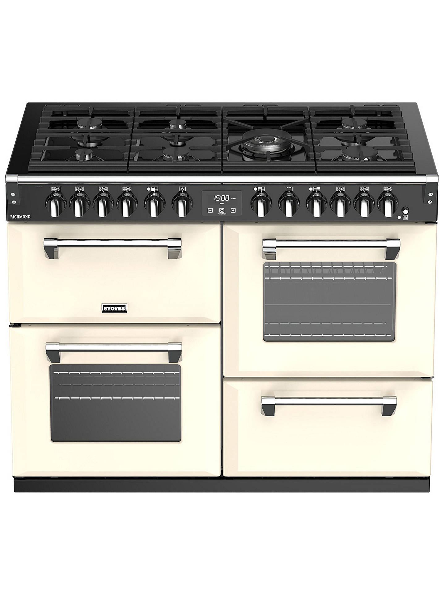 Buy Stoves Richmond S1100DF Dual Fuel Range Cooker, A Energy Rating, Classic Cream Online at johnlewis.com