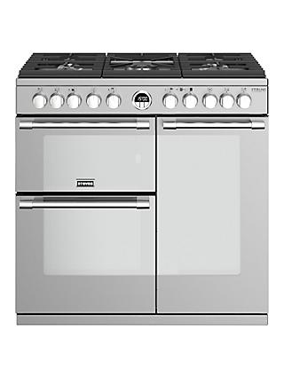 Stoves Sterling Deluxe S900DF Dual Fuel Range Cooker, A Energy Rating