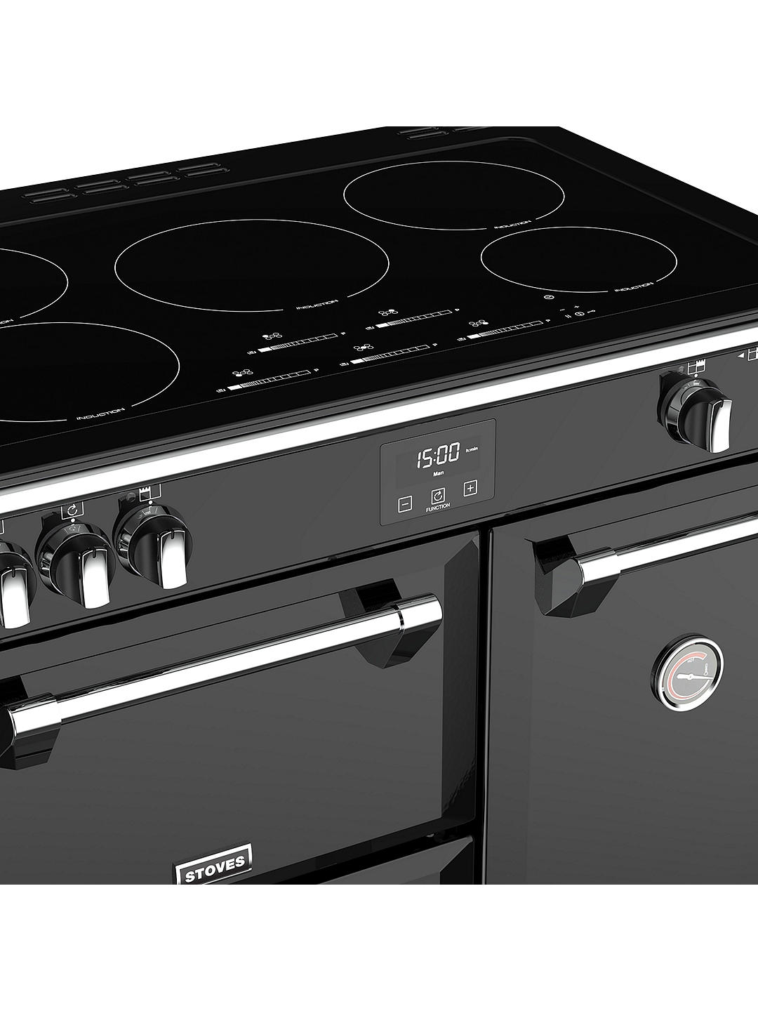 Buy Stoves Richmond Deluxe S900Ei Induction Range Cooker, Black Online at johnlewis.com