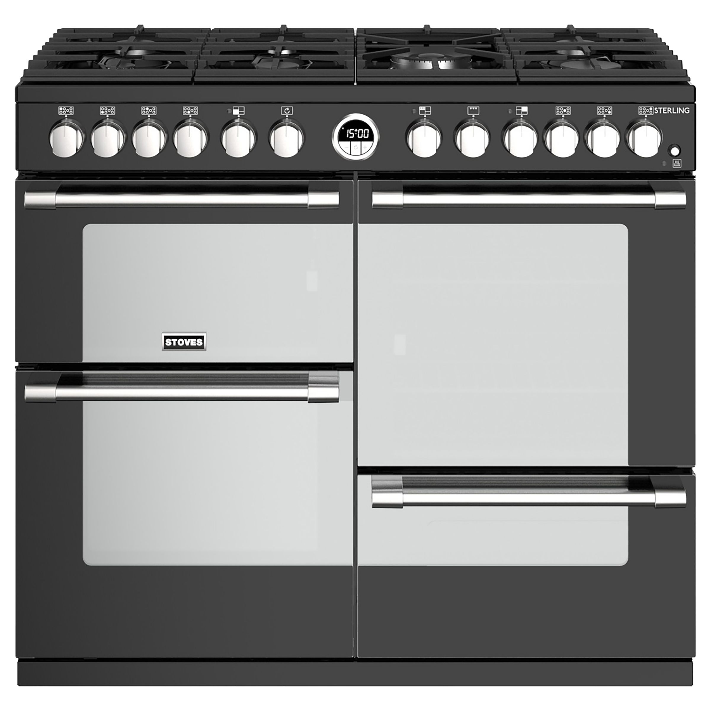 Stoves Stoves Sterling S1000DF Dual Fuel Range Cooker
