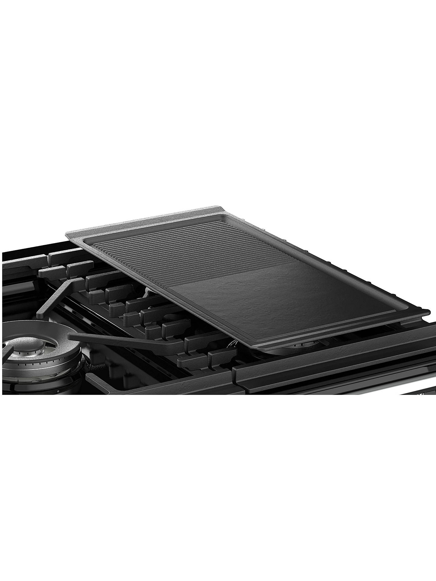 BuyStoves Richmond Deluxe S1000G Gas Range Cooker, Black Online at johnlewis.com