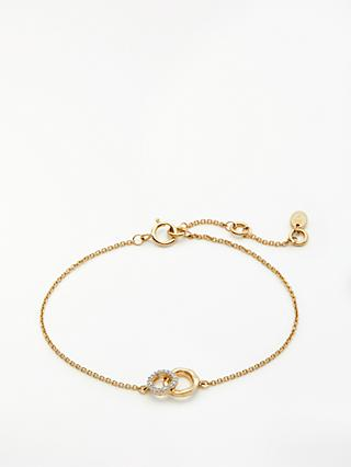 Modern Rarity Diamond Mini Link Chain Bracelet