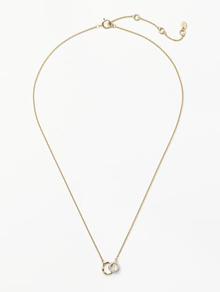 Modern Rarity Diamond Mini Link Chain Necklace