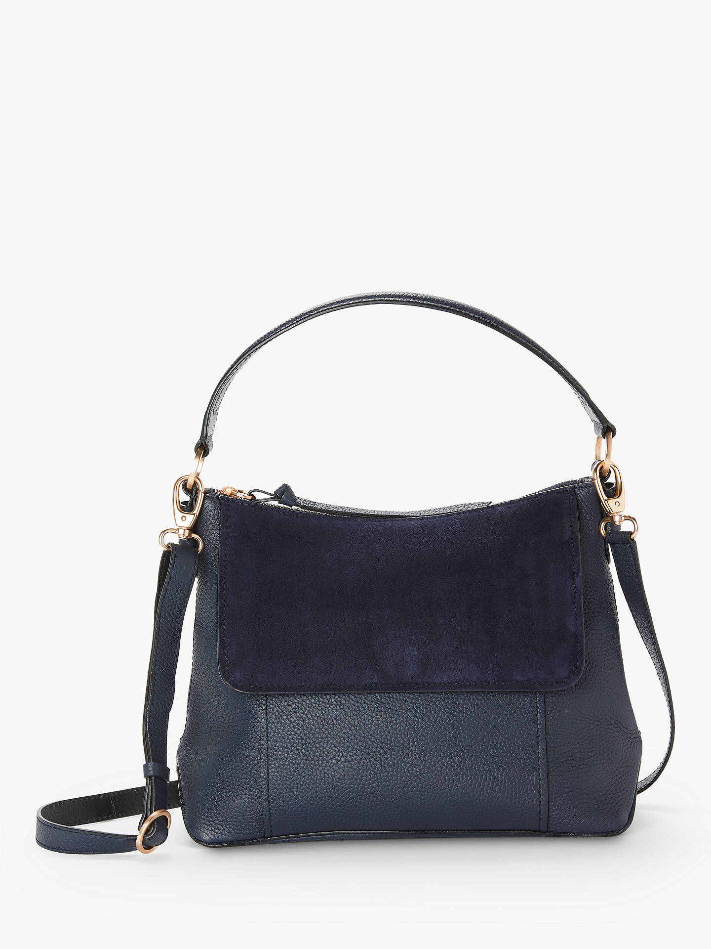 Leather Walcot Handbag At John Lewis