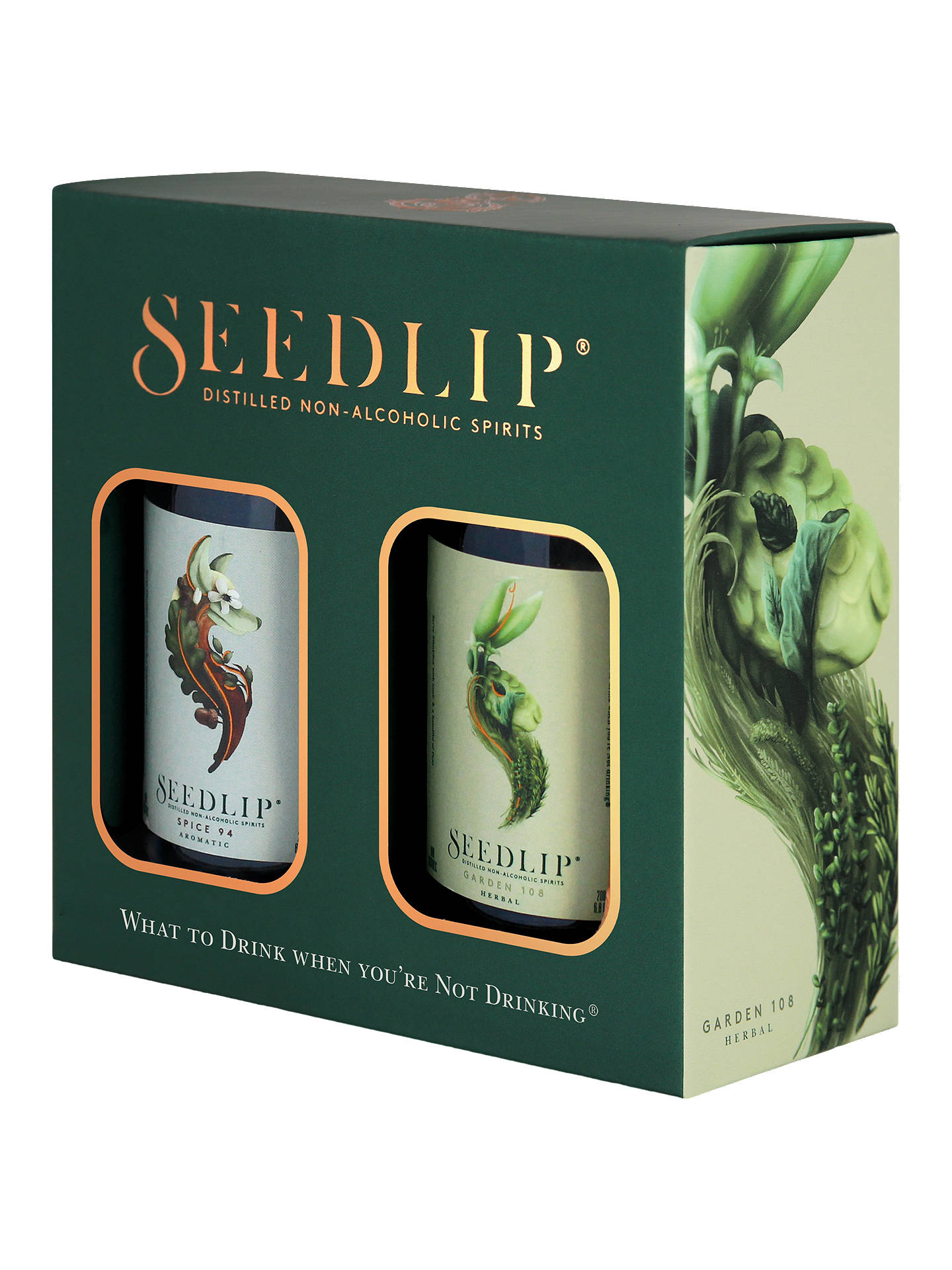 Buy Seedlip Alcohol Free Duo Gift Box, 2x 20cl Online at johnlewis.com
