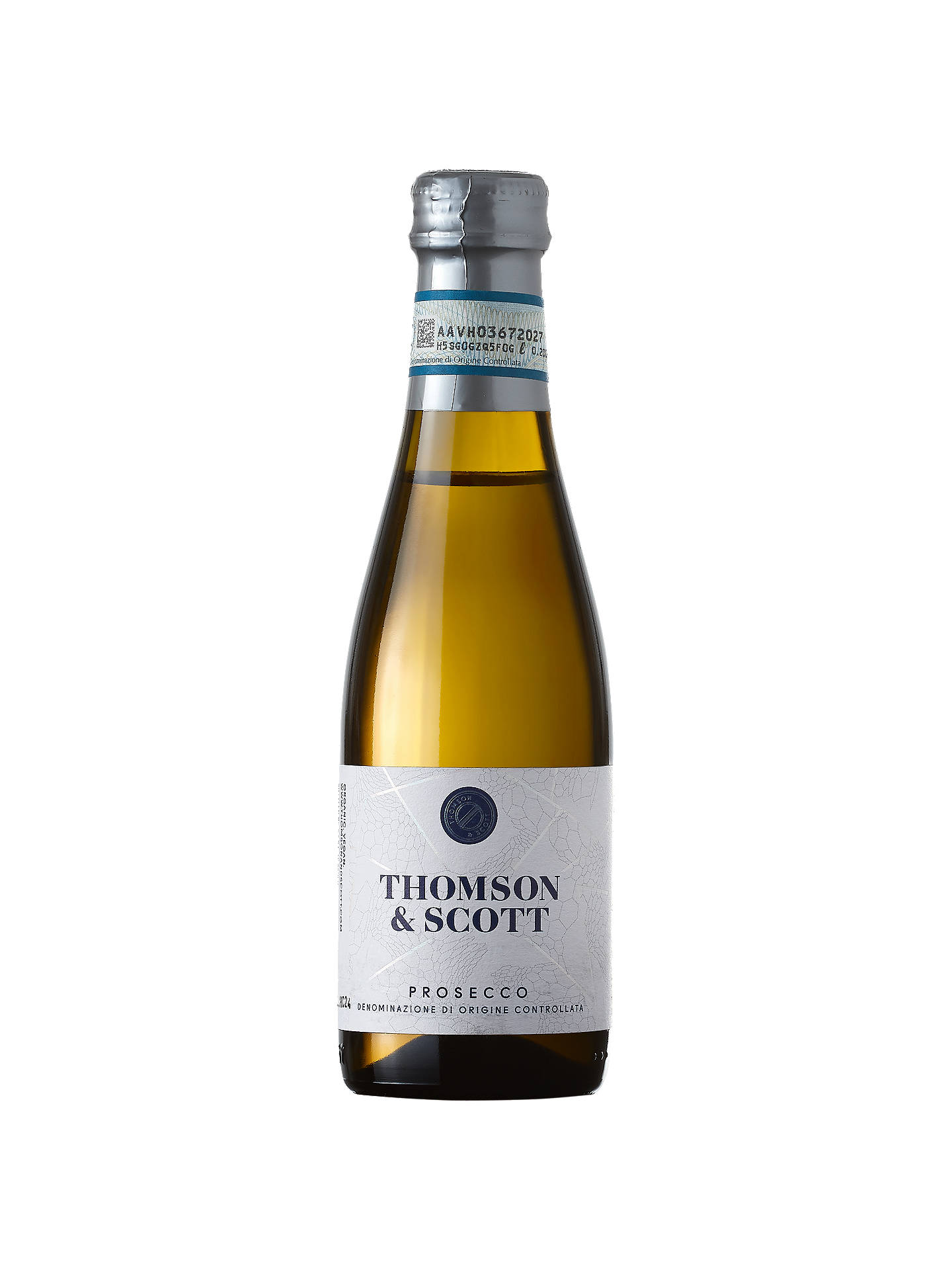 Buy Thomson & Scott Skinny Prosecco Mini, 20cl Online at johnlewis.com