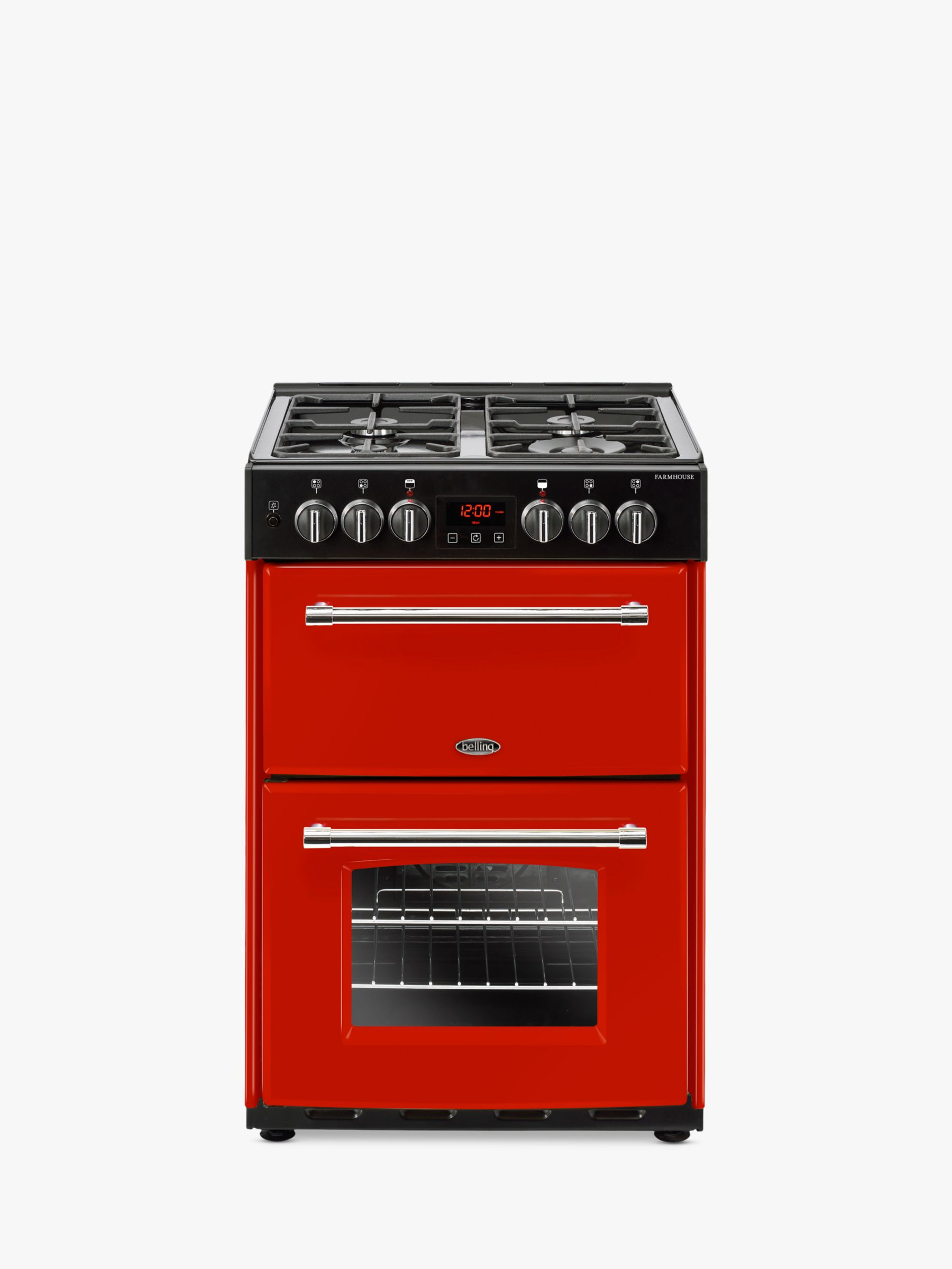 Belling Belling Farmhouse 60DF Dual Fuel Cooker, Energy Rating