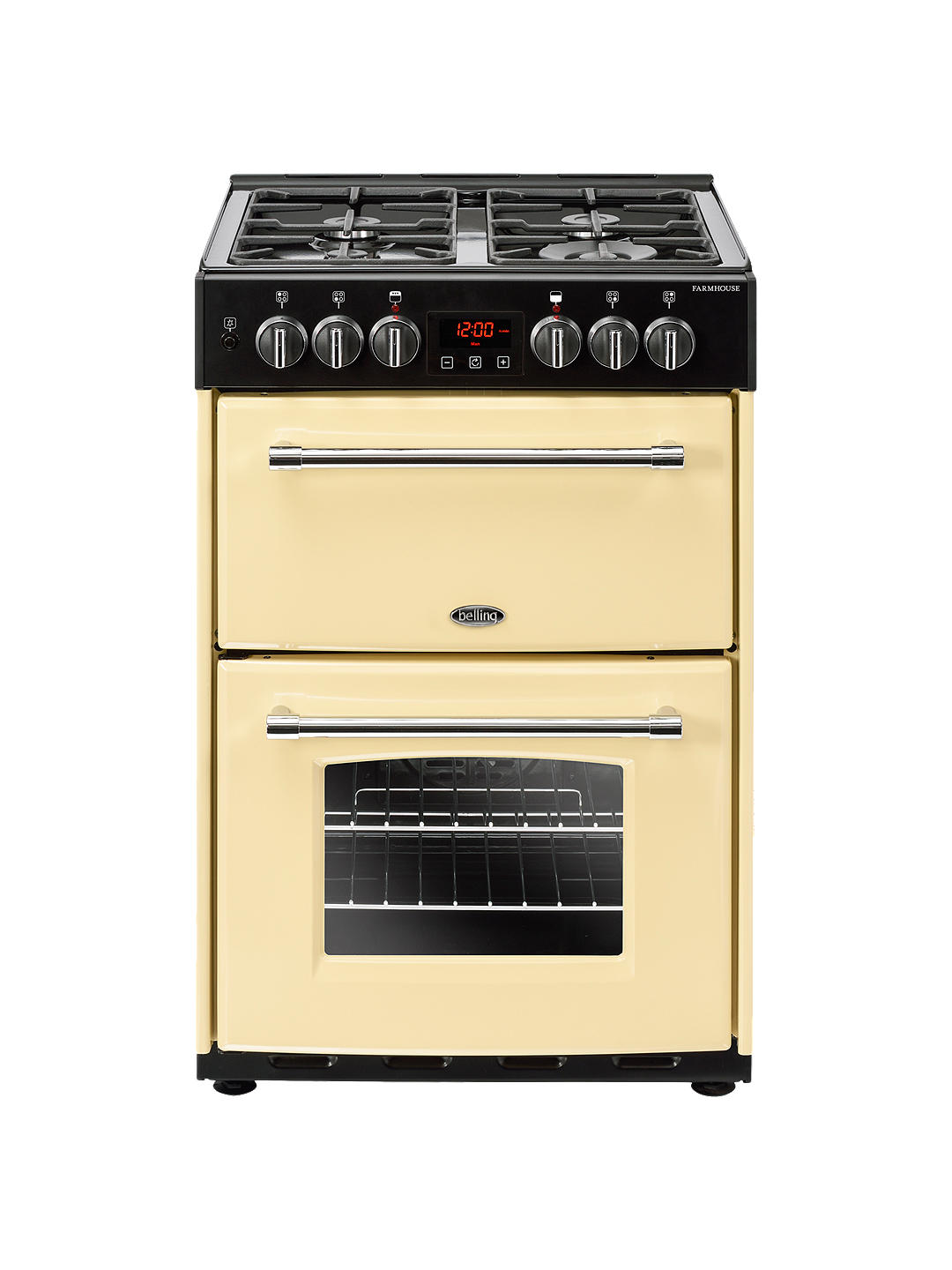 Buy Belling Farmhouse 60DF Dual Fuel Cooker, Energy Rating, Cream Online at johnlewis.com