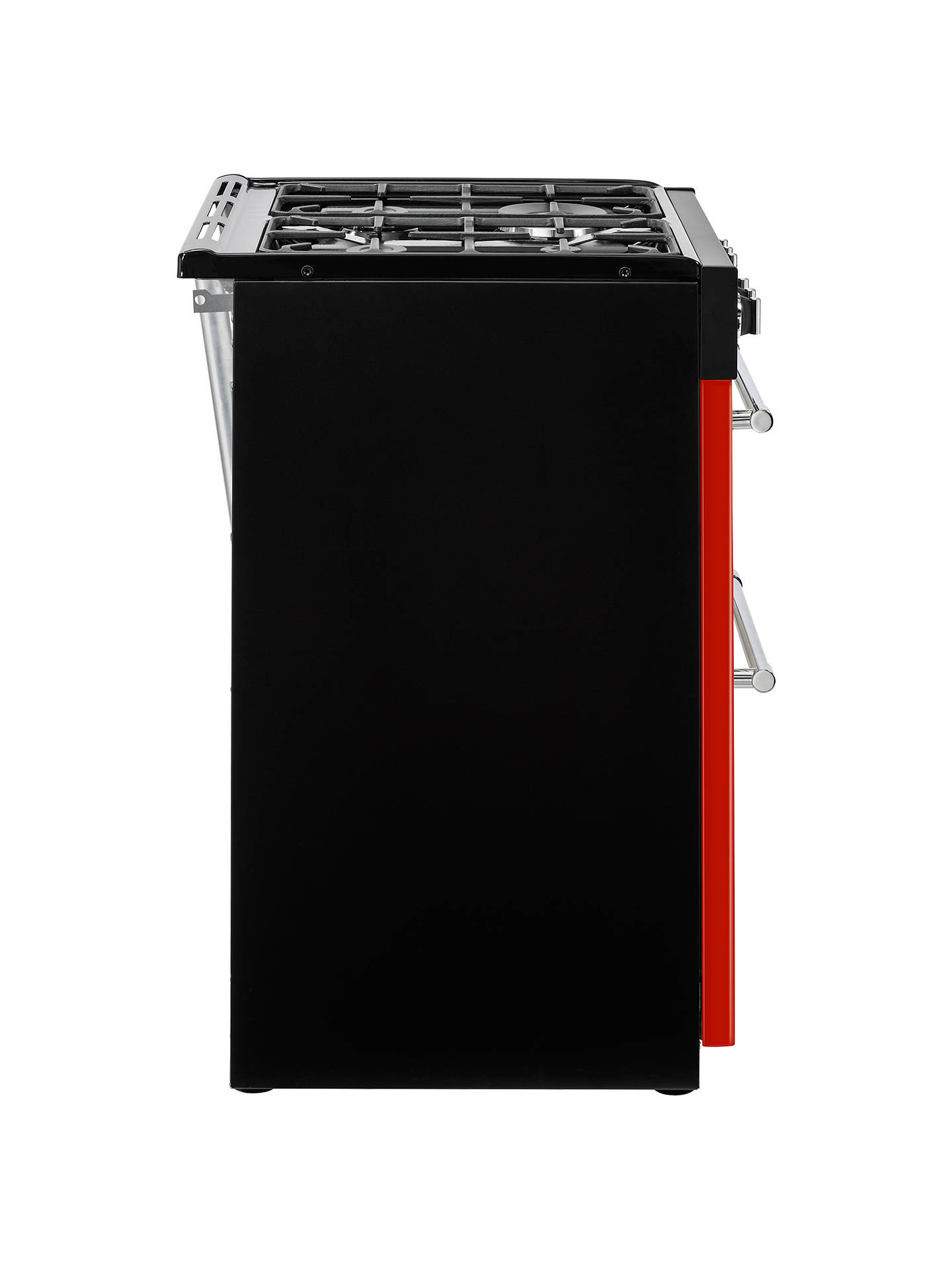 Buy Belling Farmhouse 60G Gas Cooker, 60cm Wide, Red Online at johnlewis.com