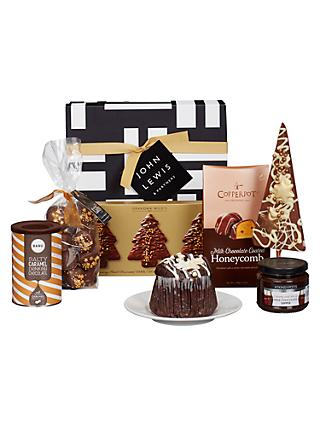 Hampers build your own traditional luxury hampers john lewis john lewis partners chocolate lovers gift box solutioingenieria Image collections