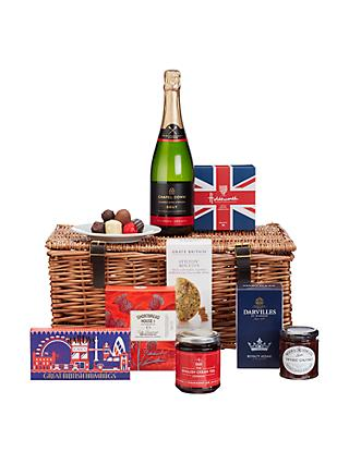 Hampers build your own traditional luxury hampers john lewis john lewis partners best of british christmas hamper solutioingenieria Gallery