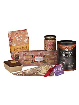John Lewis & Partners Taste Of Christmas Gift Box - Hampers Build Your Own, Traditional & Luxury Hampers John Lewis
