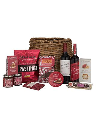 John Lewis Partners Winter Warmer Christmas Hamper