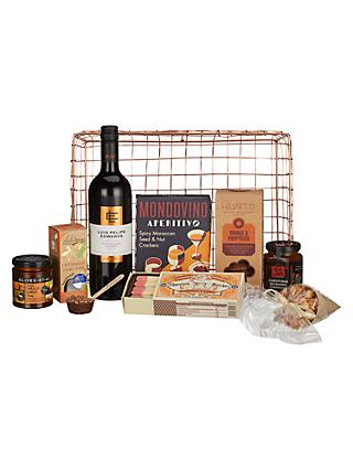 Hampers build your own traditional luxury hampers john lewis john lewis partners copper wire gift tray solutioingenieria Gallery