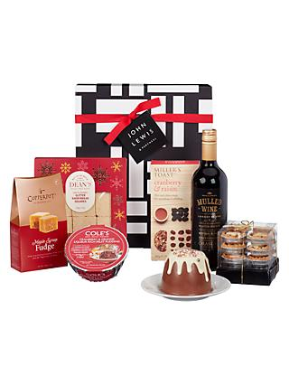 John Lewis Partners Seasonal Cheer Gift Box