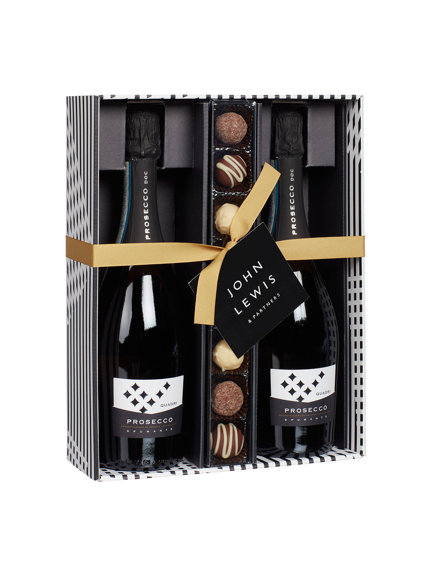 BuyJohn Lewis & Partners Double Prosecco and Chocolates Gift Box Online at johnlewis.com
