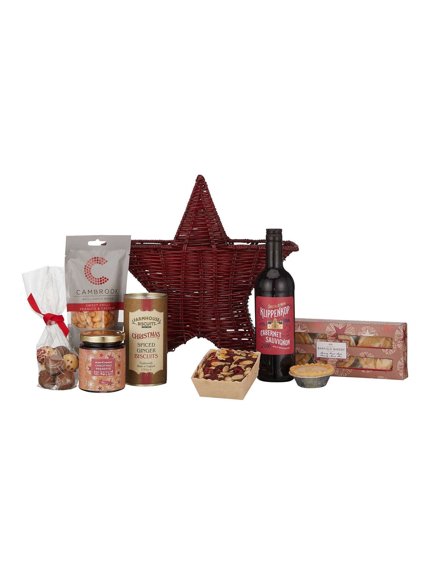 BuyJohn Lewis & Partners Christmas Star Gift Basket Online at johnlewis.com