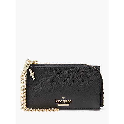 kate spade new york Cameron Street Ivey Leather Wristlet Purse, Black