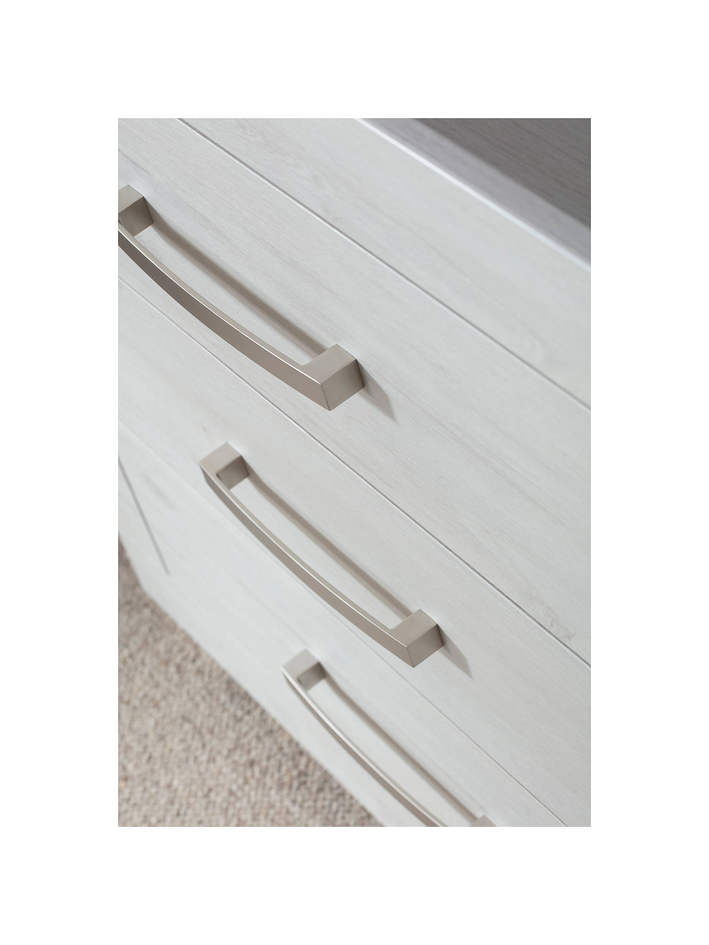 BuySilver Cross Coastline Dresser, Textured Washed Oak Online at johnlewis.com