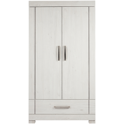 Silver Cross Coastline Wardrobe, Textured Washed Oak