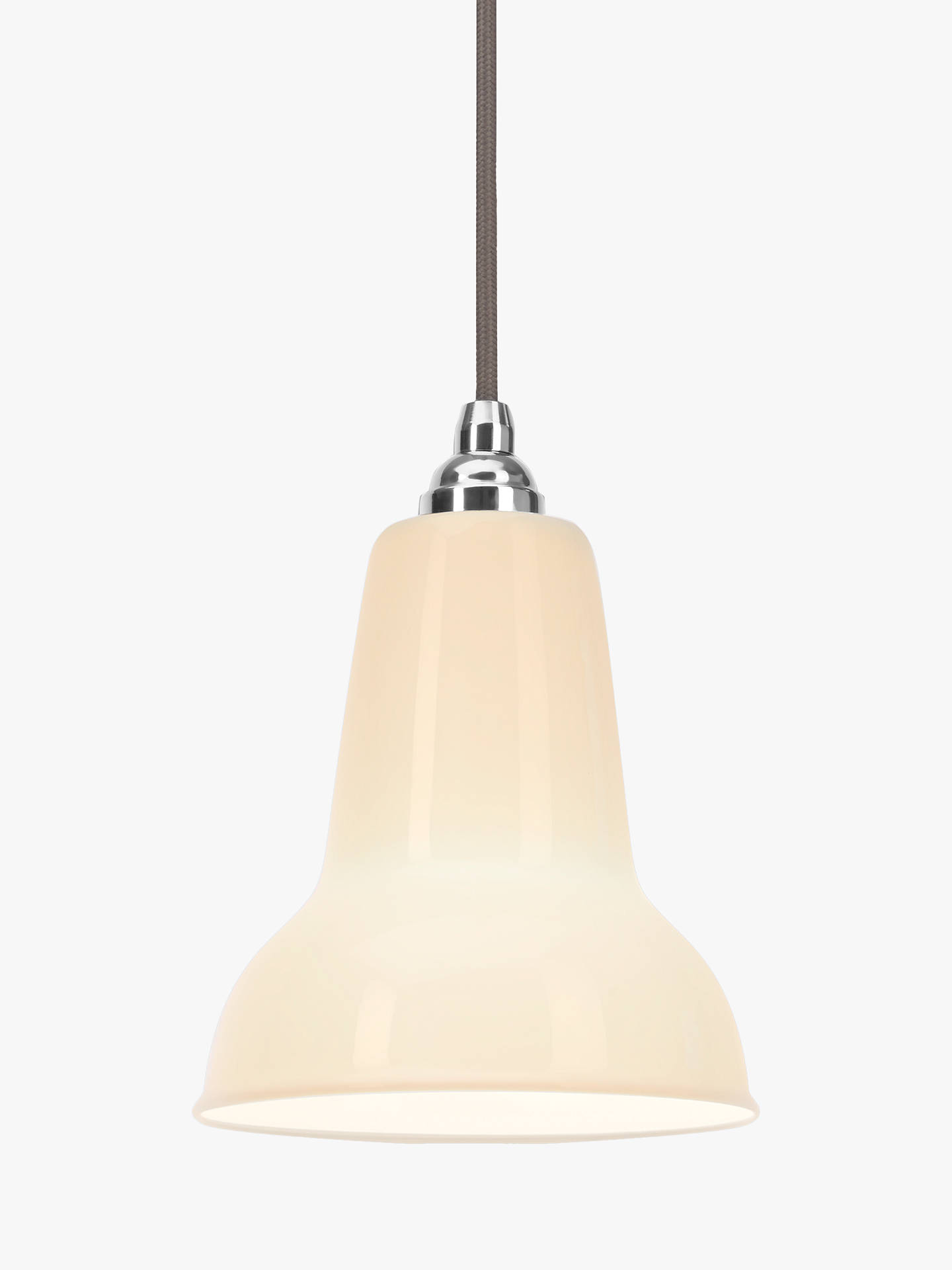 Buy Anglepoise 1227 Mini Ceramic Ceiling Light, White Online at johnlewis.com