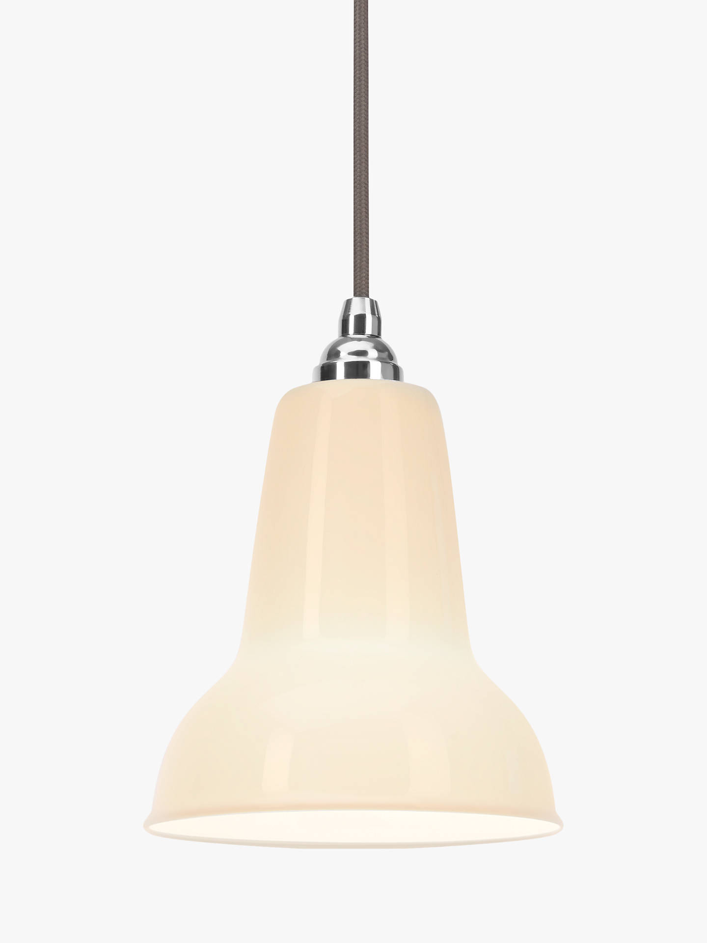 BuyAnglepoise 1227 Mini Ceramic Ceiling Light, White Online at johnlewis.com