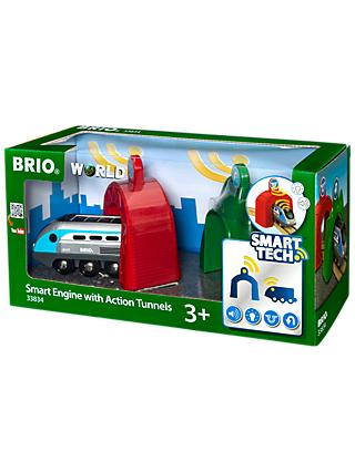 Brio World Smart Tech Engine with Action Tunnels