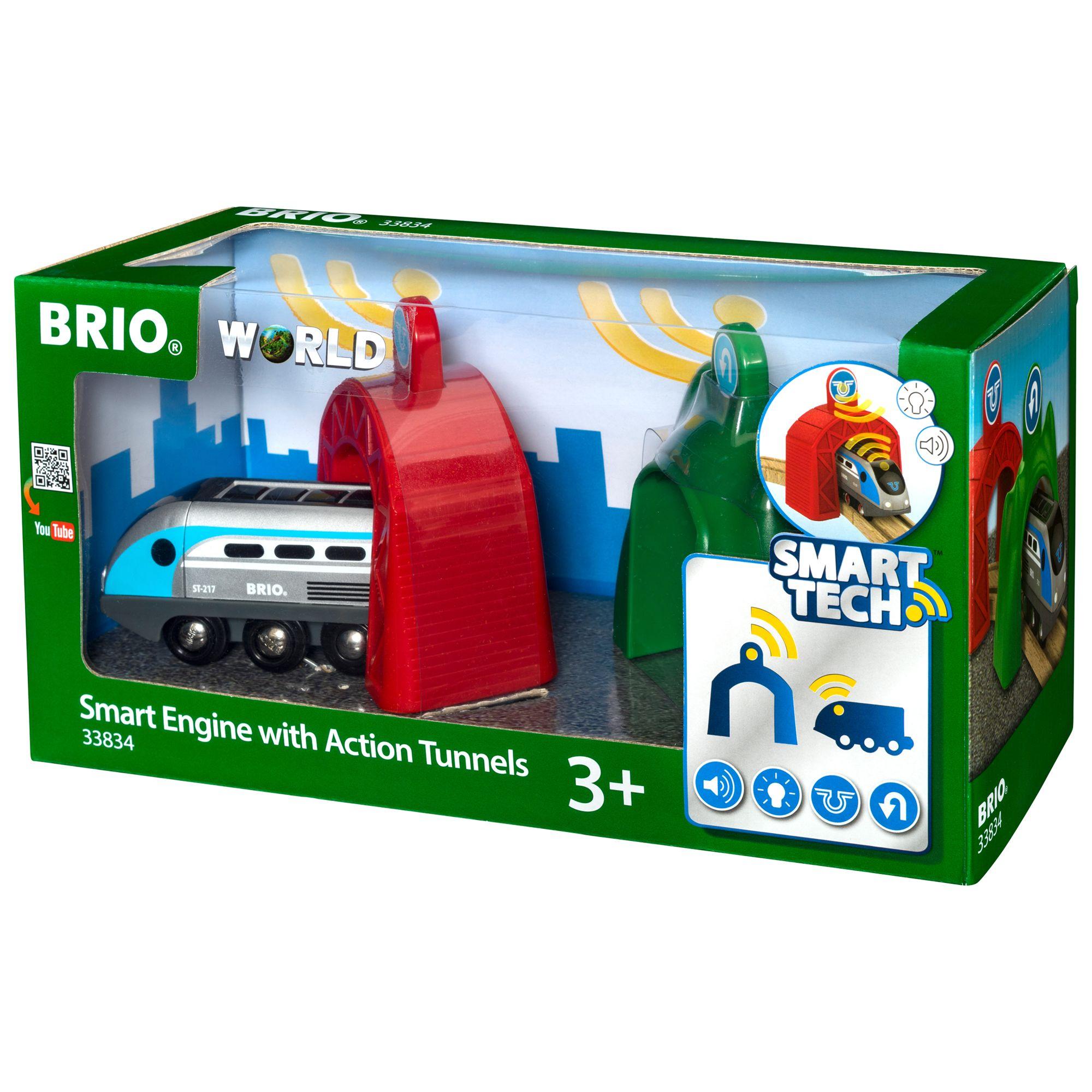 BRIO BRIO World Smart Tech Engine with Action Tunnels