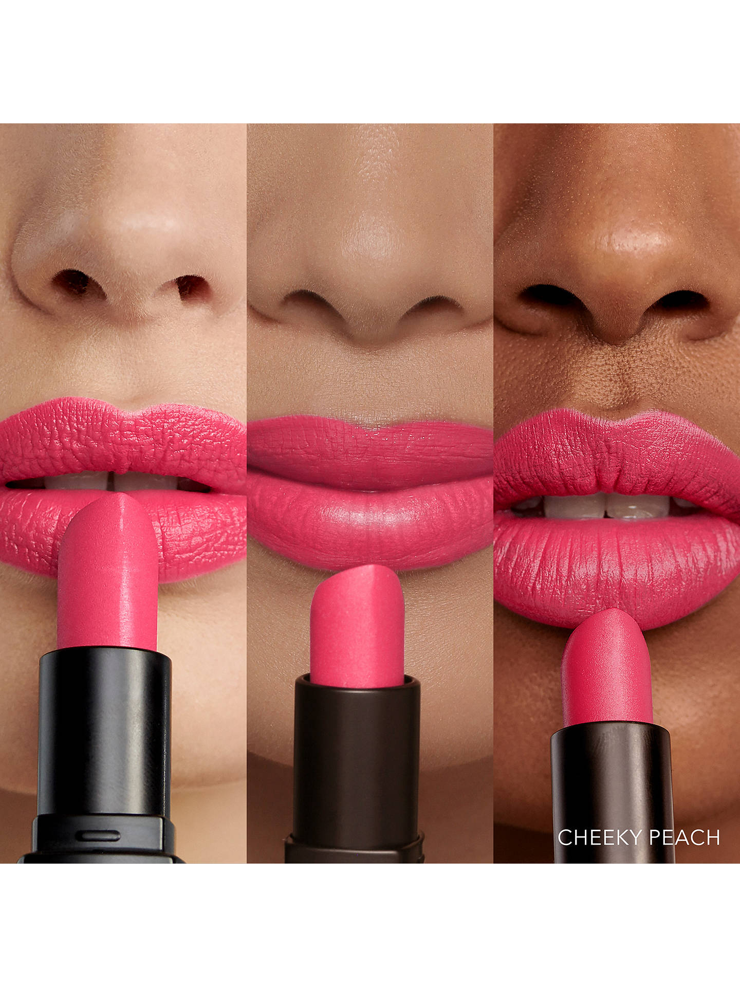 Buy Bobbi Brown Luxe Lip Colour, Matte, Cheeky Peach Online at johnlewis.com