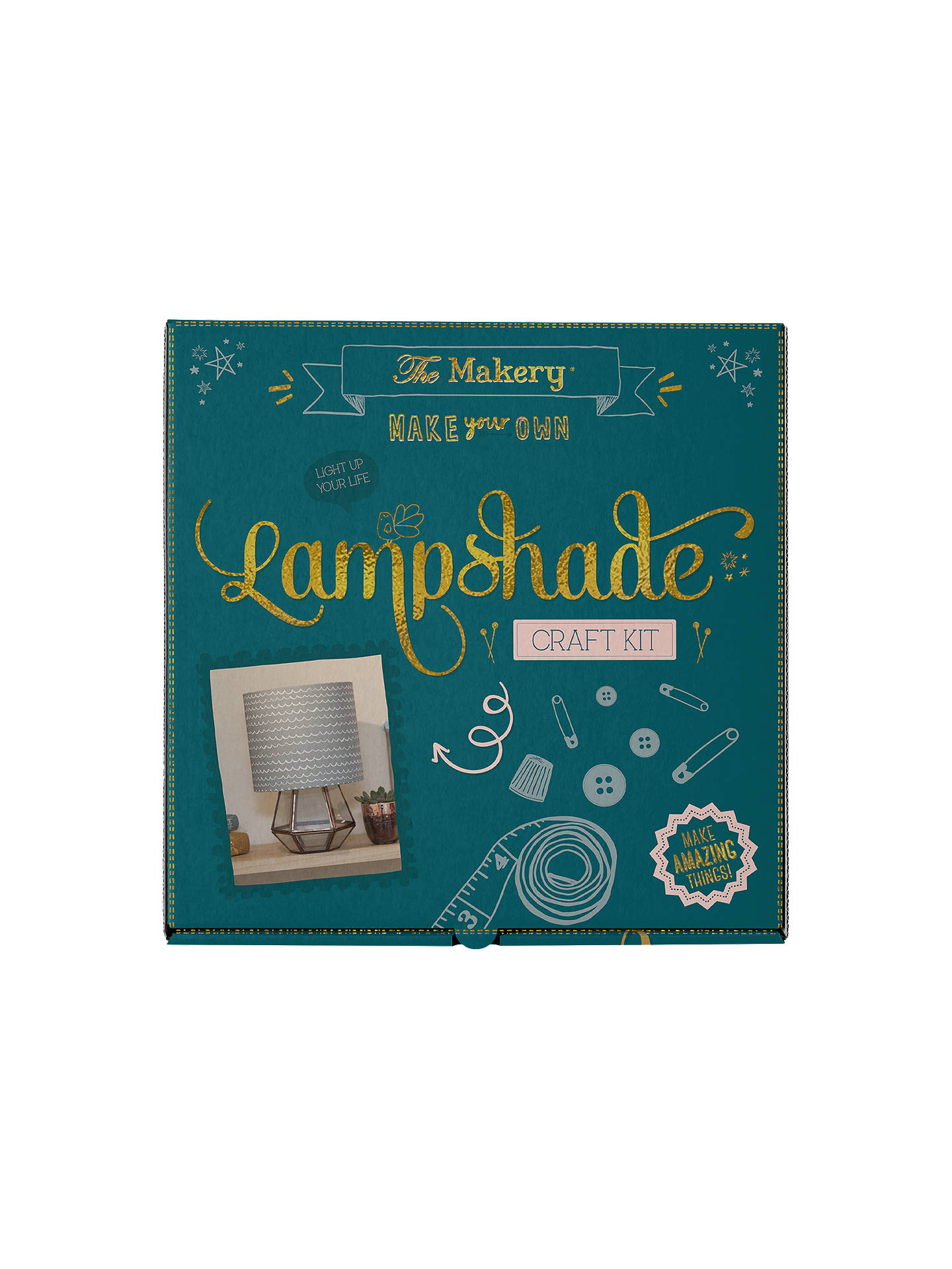 Buy The Makery Make Your Own Lampshade Craft Kit Online at johnlewis.com